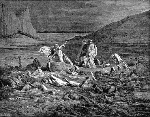 Dante's Inferno, illustration by Gustave Doré