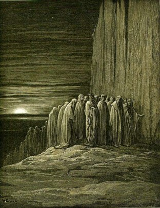 Dante's Purgatorio, illustration by Gustave Doré