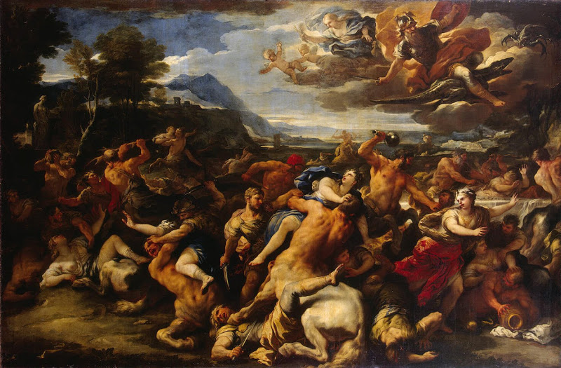 Giordano Luca - Battle Between the Lapiths and Centaurs